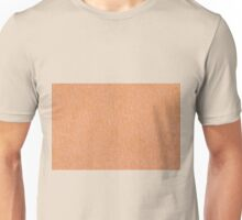 Beige material texture abstract  Unisex T-Shirt
