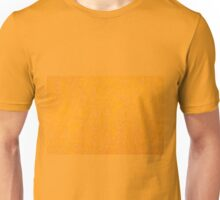 Yellow orange material texture abstract Unisex T-Shirt