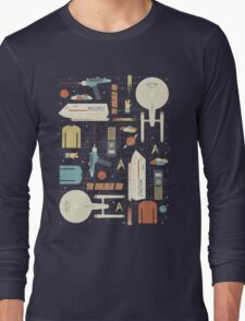 To Boldly Go... Long Sleeve T-Shirt