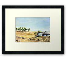 Free State Landscape Framed Print