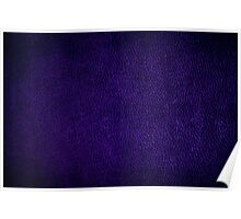 Purple glossy leather texture abstract Poster