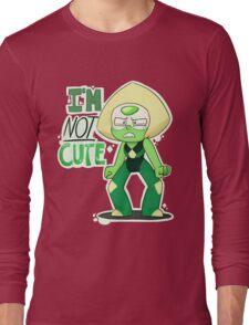 I'M NOT CUTE Long Sleeve T-Shirt