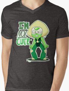 I'M NOT CUTE Mens V-Neck T-Shirt