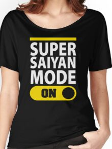 SUPER SAIYAN MODE ON Women's Relaxed Fit T-Shirt