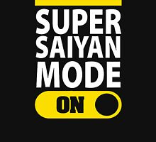 SUPER SAIYAN MODE ON Unisex T-Shirt