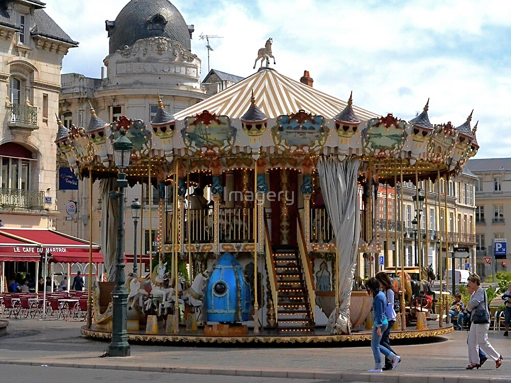 Jules Verne Merry Go Round by Imagery