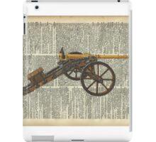 Old canon Dictionary Art iPad Case/Skin