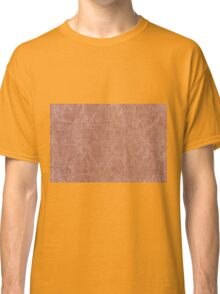Brown canvas cloth texture abstract Classic T-Shirt