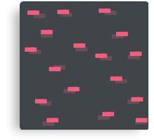 Geometric blocks seamless pattern Canvas Print