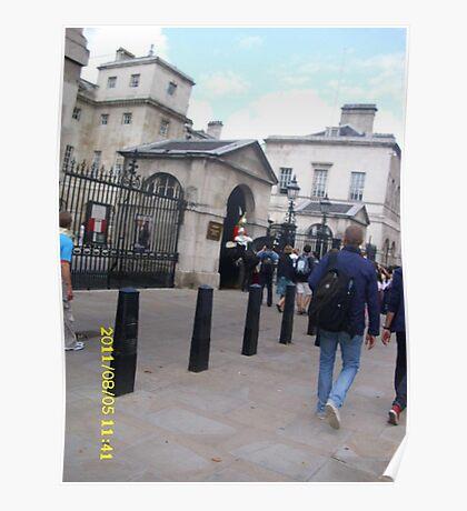 London: Famous Sights: Horse Guards Parade -(05/08/11)- Digital photo Poster