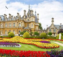 National Trust Waddesdon Manor House Panorama by Gareth Spiller