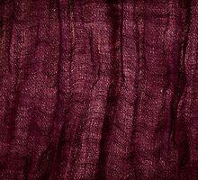 Burgundy grunge cloth texture by Arletta Cwalina