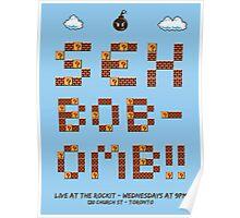 Sex Bob-omb gig poster Poster
