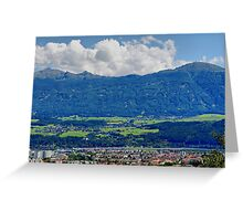 Innsbruck Tirol Austria Greeting Card
