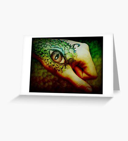 Mark of the Dragon II Greeting Card