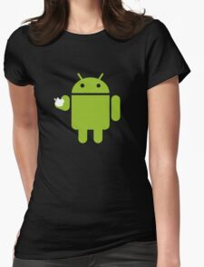 Hungry Android Womens Fitted T-Shirt