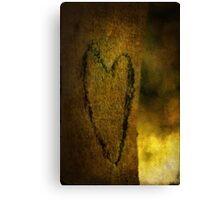 Love Tree Canvas Print
