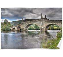 Aberfeldy Bridge Poster
