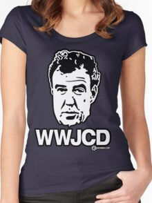 Top Gear - WWJCD What Would Jeremy Clarkson Do? Women's Fitted Scoop T-Shirt