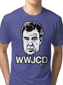 Top Gear - WWJCD What Would Jeremy Clarkson Do? Tri-blend T-Shirt