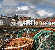 St Monans Harbour by Tom Curtis