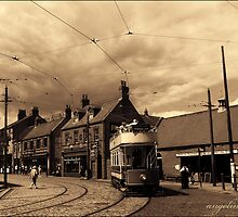 Beamish Tram Central by angelimagine