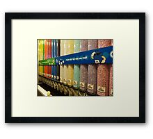 Everyone Has A Soft Side Framed Print