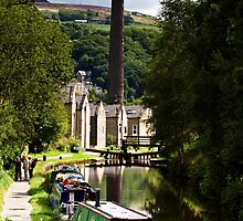 Towards Hebden Bridge by inkedsandra