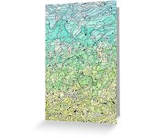 Between The Earth and Sky Greeting Card