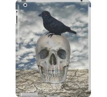 Crow on Skull iPad Case/Skin