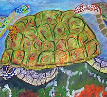 Sea Turtles With Eggs by Newhouser