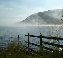 st mary's morning mist by dinghysailor1