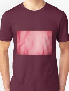 Red organza texture abstract Unisex T-Shirt