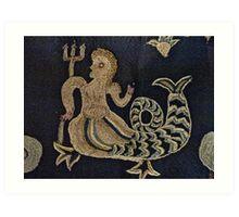 Icelandic Mermaid Art Print