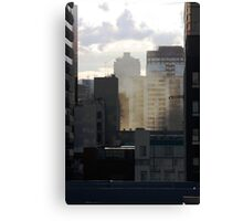 Layered City Canvas Print