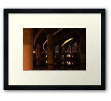 Under the Freeway Framed Print