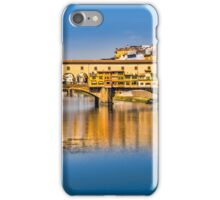 Ponte Vecchio Reflections iPhone Case/Skin