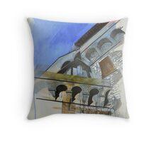 San Gimignano 1 Throw Pillow