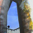San Gimignano 2 by Richard Sunderland