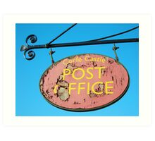 Postal Disorder Art Print