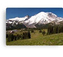 Mt. Rainier from Sunrise Visiting Area Canvas Print