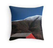 RED BARN* Throw Pillow