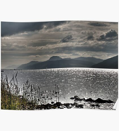 Loch Ness HDR Poster