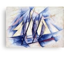 Sail Movements Canvas Print