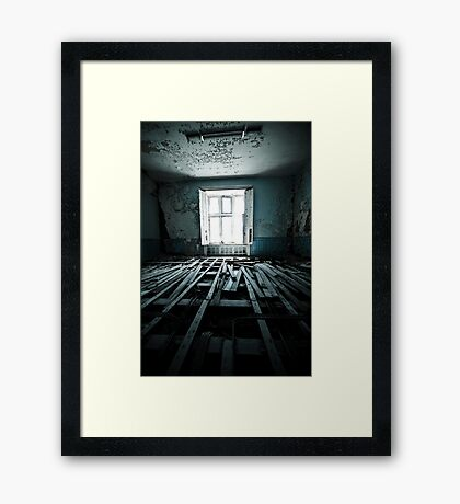 Stripped Framed Print