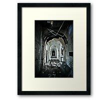 Vers L'avant Framed Print