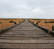 Never ending path at Dungeness by capelston