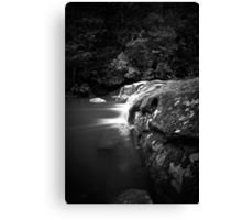 Glowing Flow Canvas Print