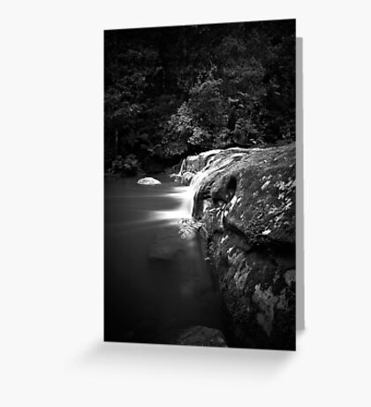 Glowing Flow Greeting Card