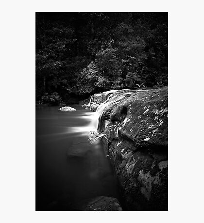 Glowing Flow Photographic Print